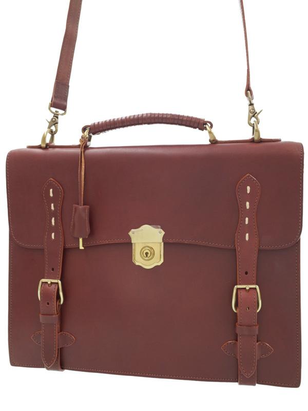 【Luggage AOKI】ラゲージアオキ『2WAYブリーフケース』メンズ ビジネスバッグ 1週間保証【中古】b01b/h02AB