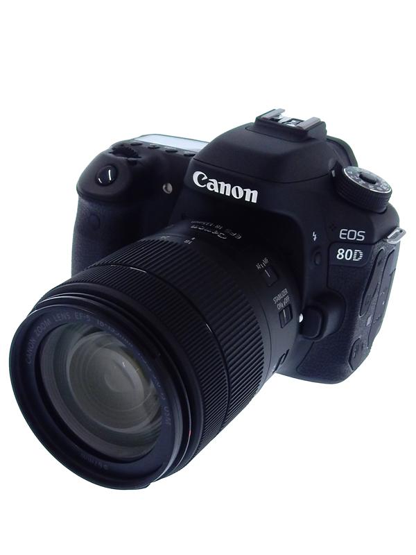 【Canon】キヤノン『EOS 80D EF-S18-135 IS USMレンズキット』EOS80D18135ISUSMLK 2420万画素 SDXC デジタル一眼レフカメラ 1週間保証【中古】b02e/h04A