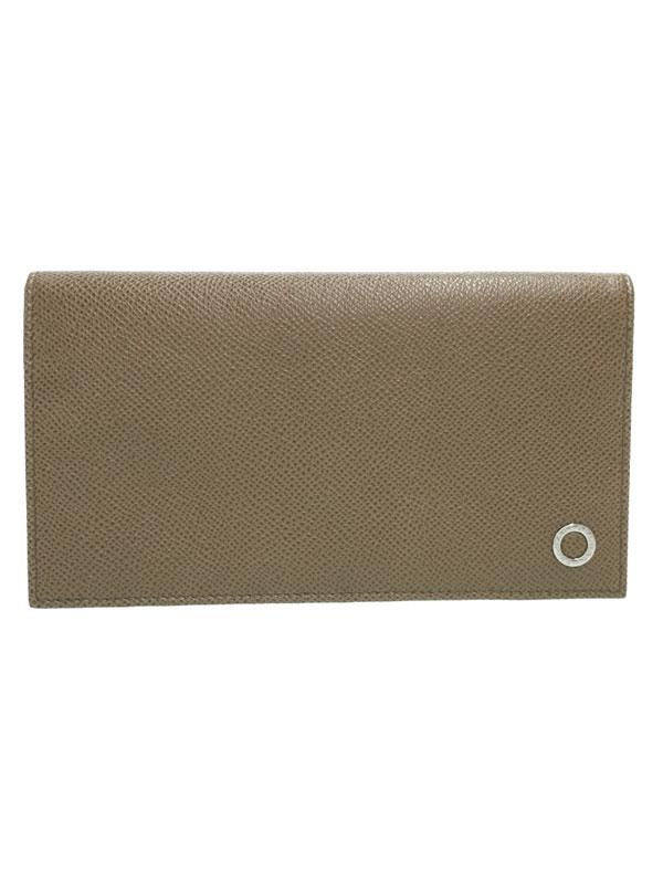 【BVLGARI】ブルガリ『ブルガリブルガリ 長財布』30398 メンズ 二つ折り長財布 1週間保証【中古】b03b/h07A