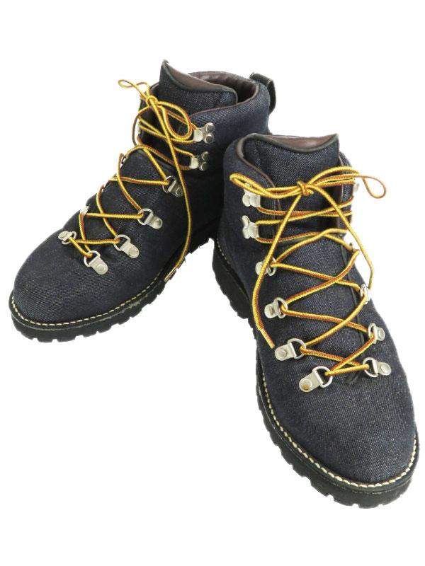 【Danner】【ザイロンデニム】【EDWIN コラボ】【100足限定】ダナー『マウンテントレイル size9 1/2』D1246 メンズ ブーツ 1週間保証【中古】b02b/h22A
