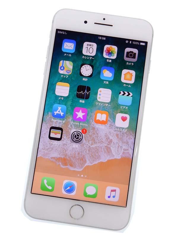 【Apple】【SoftBankのみ】アップル『iPhone 8 Plus 64GB SoftBank』MQ9L2J/A シルバー iOS11.4.1 5.5型 白ロム ○判定 スマートフォン【中古】b03e/h15B