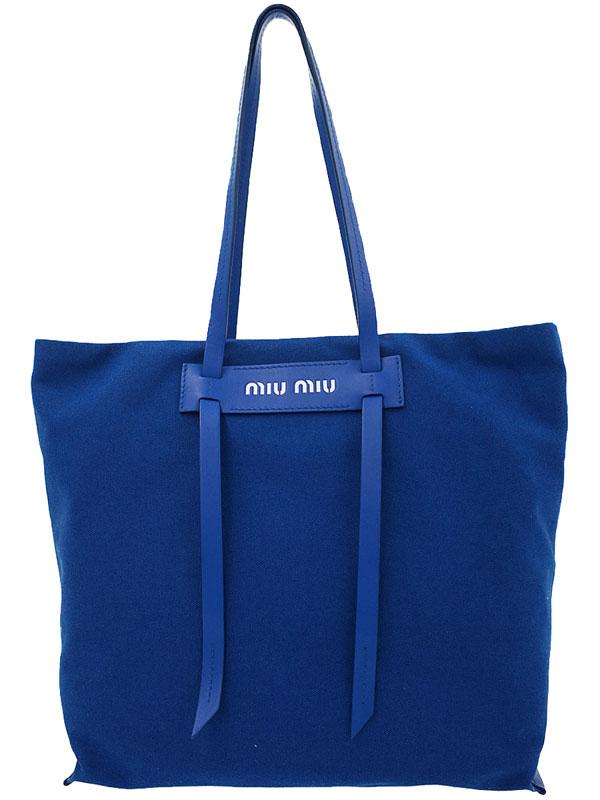 【miu miu】ミュウミュウ『トートバッグ』5BG116 レディース 1週間保証【中古】b02b/h19SA