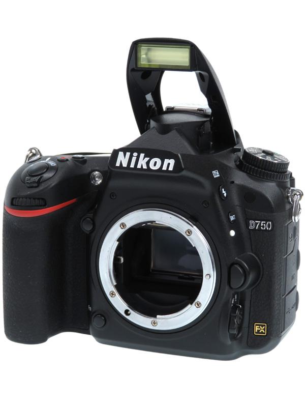 【Nikon】ニコン『D750 ボディ』2432万画素 FXフォーマット ISO12800 フルHD動画 SDXC デジタル一眼レフカメラ 1週間保証【中古】b05e/h10B