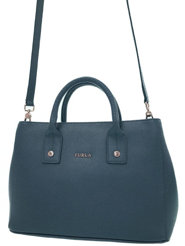 【FURLA】フルラ『リンダ 2WAYトートバッグ』レディース 2WAYバッグ 1週間保証【中古】b02b/h14SA