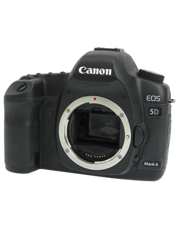 【Canon】キヤノン『EOS 5D Mark IIボディー』EOS5DMK2 2230万画素 フルサイズ CFカード デジタル一眼レフカメラ 1週間保証【中古】b02e/h02B