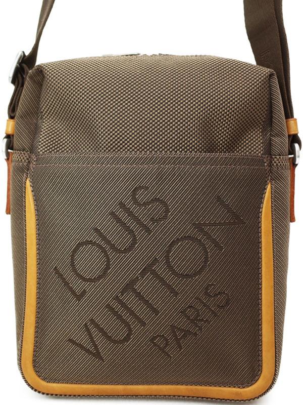 【LOUIS VUITTON】ルイヴィトン『ダミエ ジェアン シタダン』M93040 メンズ ショルダーバッグ 1週間保証【中古】b01b/h04B