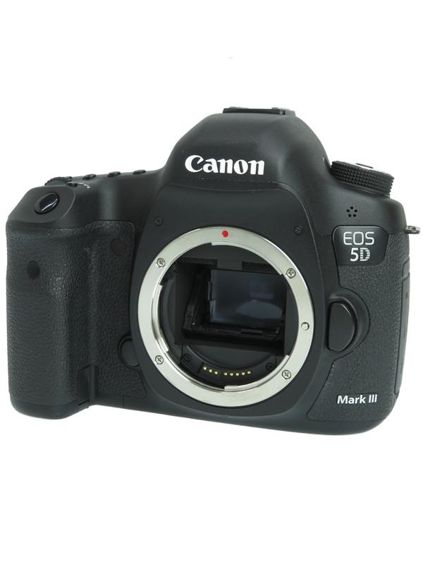 【Canon】キヤノン『EOS 5D Mark IIIボディー』EOS5DMK3 2230万画素 SDXC フルサイズ デジタル一眼レフカメラ 1週間保証【中古】b06e/h18B