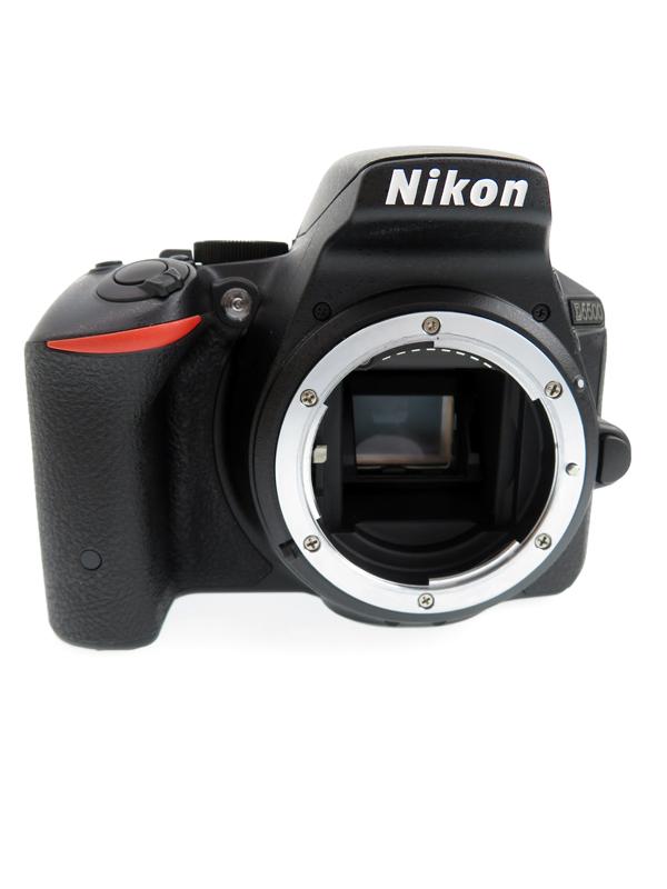 ニコン『D5500』D5500 ブラック 2416万画素 タッチパネル Wi-Fi ボディー デジタル一眼レフカメラ【中古】b02e/h04AB