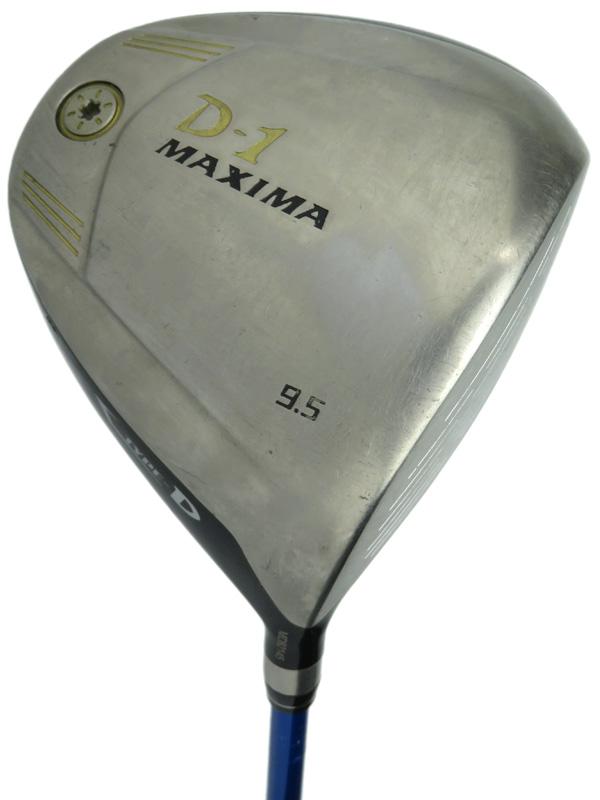 【RYOMA GOLF】リョーマゴルフ『D-1 MAXIMA TYPE-D ドライバー 9.5° Diamana B60 フレックスS』ゴルフクラブ 1週間保証【中古】b03e/h12B