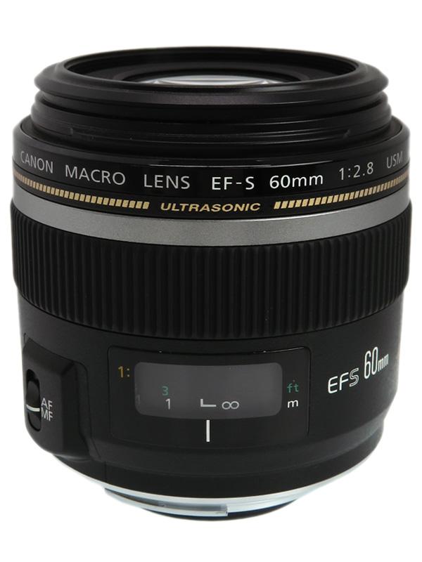 【Canon】キヤノン『EF-S60mm F2.8マクロUSM』EF-S6028MU 96mm相当 等倍 デジタル一眼レフカメラ用レンズ 1週間保証【中古】b03e/h15AB