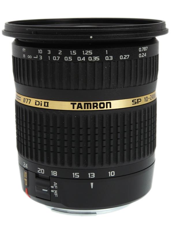 【TAMRON】タムロン『SP AF 10-24mm F/3.5-4.5 Di II LD Aspherical』B001E キヤノン用 APS-C デジタル一眼レフカメラ用レンズ 1週間保証【中古】b03e/h15B