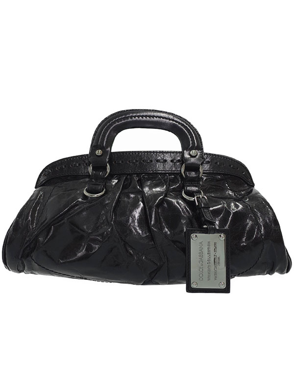 【Dolce&Gabbana】【MISS ROMANTIQUE】ドルチェアンドガッバーナ『ハンドバッグ』レディース 1週間保証【中古】b03b/h20AB