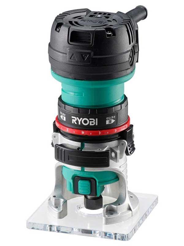 リョービ『電子トリマ』TRE-60V 単相100V 550W 16,000~30,000min 6mmビット【新品】b00t/h04N