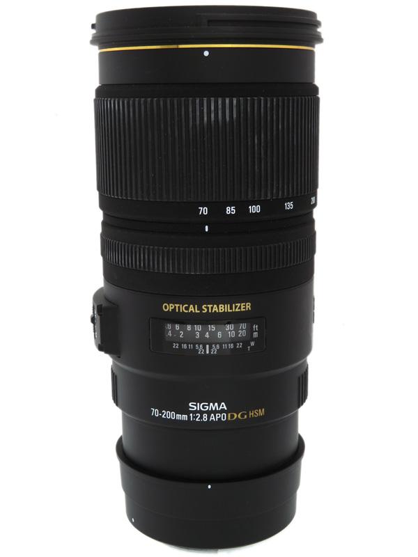【SIGMA】シグマ『APO 70-200mm F2.8 EX DG OS HSM』キヤノンマウント デジタル一眼レフカメラ用レンズ 1週間保証【中古】b06e/h17B