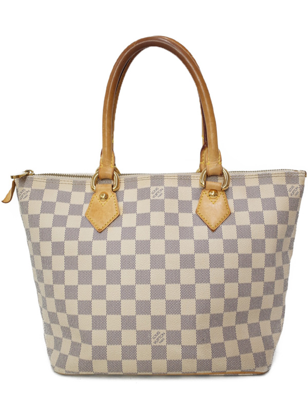 【LOUIS VUITTON】ルイヴィトン『ダミエ アズール サレヤPM』N51186 レディース トートバッグ 1週間保証【中古】b03b/h16BC