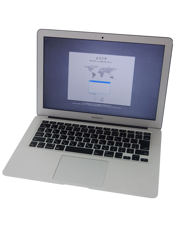 【Apple】アップル『MacBook Air 1300/13.3』MD761J/A シルバー Mid 2013 256GB Mountain Lion ノートPC 1週間保証【中古】b03e/h08AB
