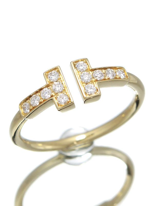 【ファッション通販】 【TIFFANY&Co.】【仕上済】ティファニー『Tワイヤー リング ダイヤモンド』9号 1週間保証【 リング】b03j/h15SA, 憧れ:690fc77c --- greencard.progsite.com