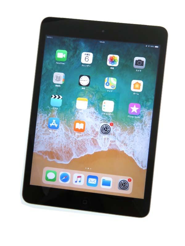 【Apple】【auのみ】アップル『Apple iPad mini 2 64GB au』ME828JA/A 7.9型 11.4.1 タブレット 1週間保証【中古】b03e/h06B
