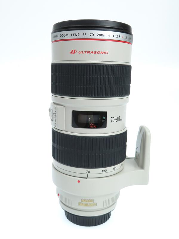 【Canon】キヤノン『EF70-200mm F2.8L IS USM』EF70-200LIS 望遠ズーム 手ブレ補正 一眼レフカメラ用レンズ 1週間保証【中古】b03e/h20AB