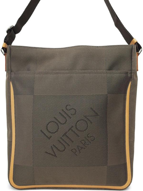 【LOUIS VUITTON】ルイヴィトン『ダミエ ジェアン コンパニョン』M93045 メンズ ショルダーバッグ 1週間保証【中古】b02b/h06AB