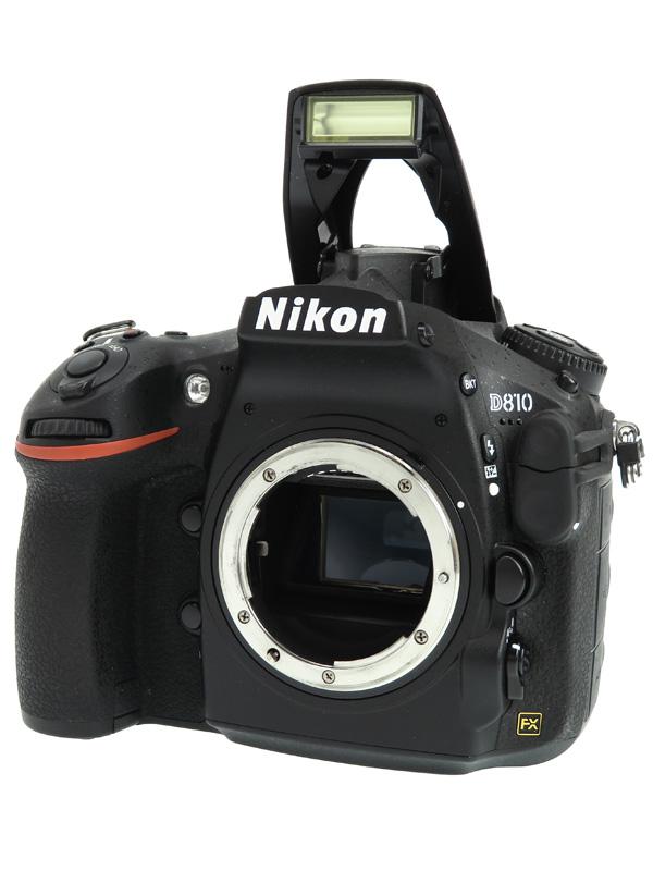フルHD動画 【Nikon】【リコール対策済】ニコン『D810 ボディ』FXフォーマット ISO100-12800 3635万画素 デジタル一眼レフカメラ 1週間保証【中古】b03e/h08AB