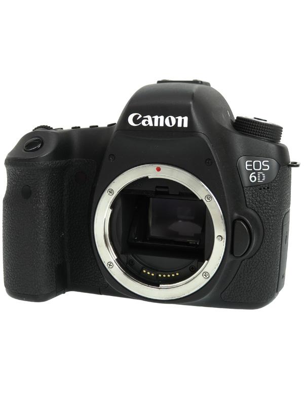 【Canon】キヤノン『EOS 6Dボディー』EOS6DBODY 2020万画素 フルサイズ 無線LAN SDXC デジタル一眼レフカメラ 1週間保証【中古】b02e/h21B