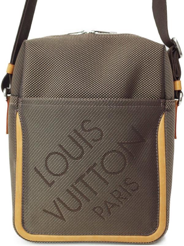 【LOUIS VUITTON】ルイヴィトン『ダミエ ジェアン シタダン』M93040 メンズ ショルダーバッグ 1週間保証【中古】b01b/h08AB