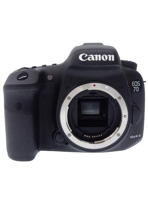 【Canon】【2014年発売】キヤノン『EOS 7D MarkII ボディ』EOS7DMK2 キヤノンEFマウント 約2020万画素 CF SDXC デジタル一眼レフカメラ 1週間保証【中古】b03e/h15B