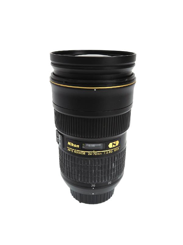 【Nikon】ニコン『AF-S NIKKOR 24-70mm f/2.8G ED』FXフォーマット デジタル一眼レフカメラ用レンズ 1週間保証【中古】b06e/h17B