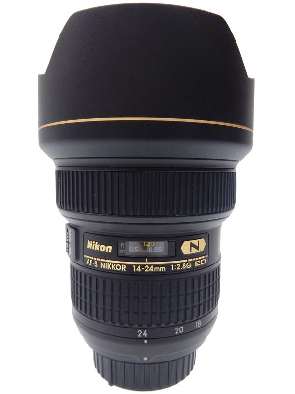 【Nikon】ニコン『AF-S NIKKOR 14-24mm f/2.8G ED』AFS14-24G Fマウント レンズフード一体型 FXフォーマット デジタル一眼レフカメラ用レンズ 1週間保証【中古】b06e/h17AB