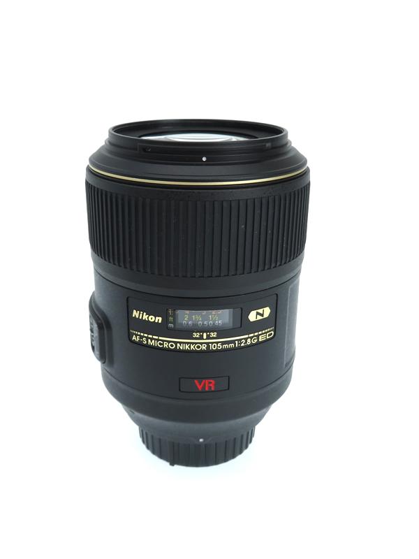 【Nikon】【Fマウント】ニコン『AF-S VR Micro-Nikkor 105mm f/2.8G IF-ED』望遠マイクロレンズ Fマウント デジタル一眼レフカメラ用レンズ 1週間保証【中古】b06e/h17AB