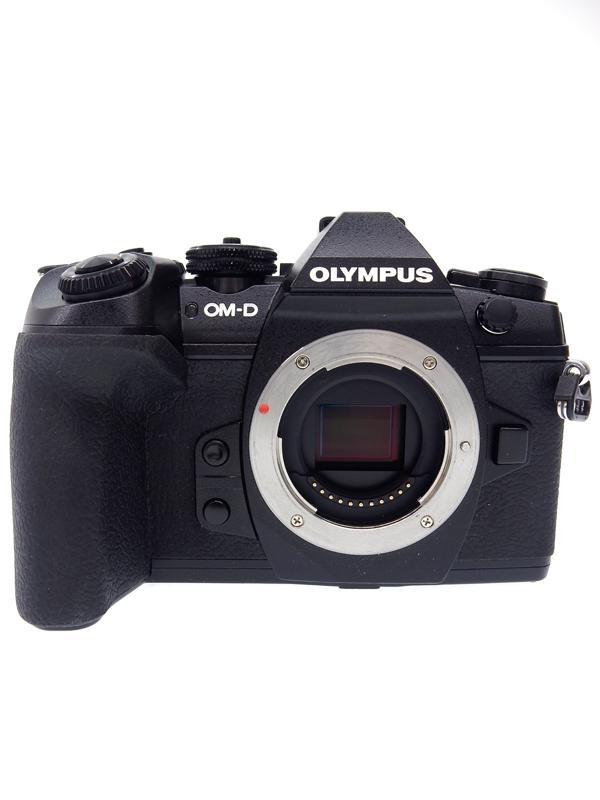 【OLYMPUS】【MICRO FOUR THIRDS】オリンパス『OLYMPUS OM-D E-M1 MarkII ボディー』ブラック 2037万画素 4K WiFi ミラーレス一眼カメラ 1週間保証【中古】b03e/h02AB