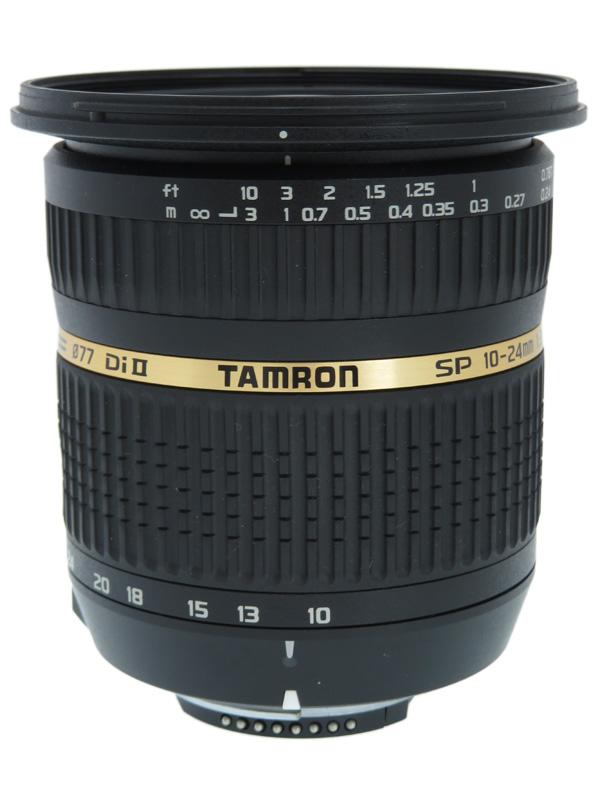 【TAMRON】タムロン『SP AF10-24mm F/3.5-4.5 Di II』B001N ニコン 16-37mm相当 APS-Cデジタル一眼レフカメラ用レンズ 1週間保証【中古】b03e/h07AB