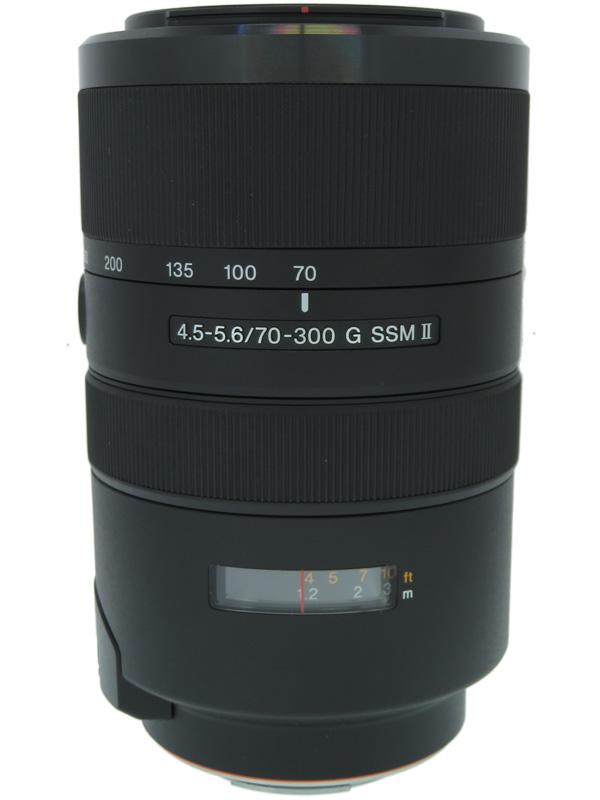 【SONY】ソニー『70-300mm F4.5-5.6 G SSM II』SAL70300G2 Aマウント フルサイズ対応 デジタル一眼カメラ用レンズ 1週間保証【中古】b02e/h12A
