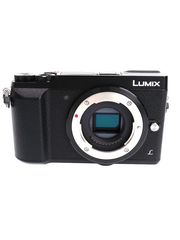 【Panasonic】パナソニック『LUMIX DMC-GX7MK2 ボディ』DMC-GX7MK2 ブラック 1600万画素 ボディ SDXC 4K 5軸手ブレ補正 デジタルカメラ【中古】b03e/h16A