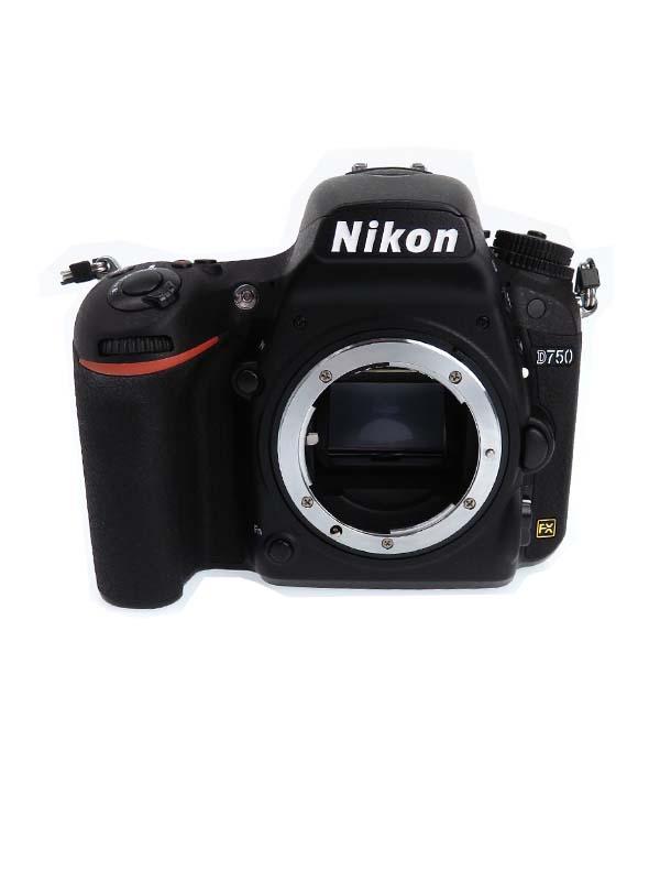 【Nikon】ニコン『D750 ボディ』2432万画素 FXフォーマット ISO12800 フルHD動画 SDXC デジタル一眼レフカメラ 1週間保証【中古】b03e/h06AB