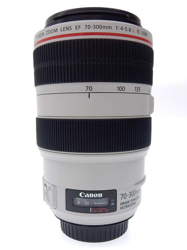 【Canon】キヤノン『EF70-300mm F4-5.6L IS USM』EF70-300LIS UDレンズ リアフォーカス フルタイムマニュアル コンパクト望遠ズームレンズ 1週間保証【中古】b02e/h18B