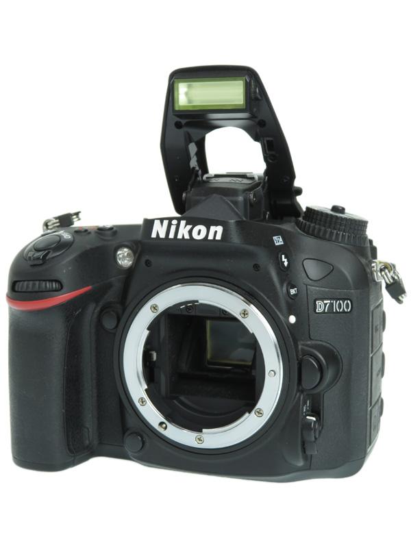 【Nikon】ニコン『D7100』2410万画素 DXフォーマット ISO6400 フルHD動画 ボディー デジタル一眼レフカメラ 1週間保証【中古】b02e/h02B