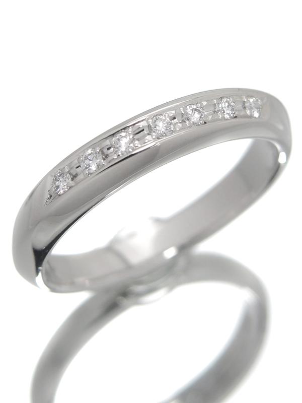 【TASAKI】タサキ『PT900リング ダイヤモンド0.06ct』10号 1週間保証【中古】b01j/h02A