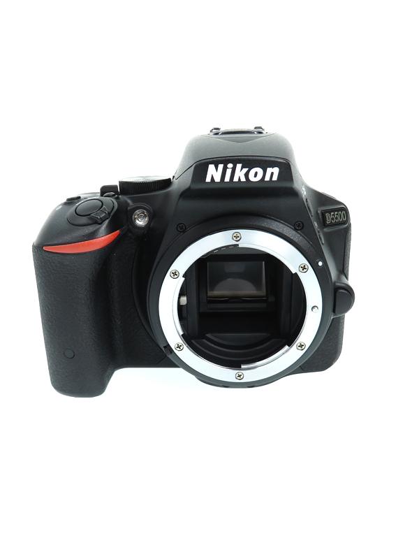ニコン『D5500』D5500 ブラック 2416万画素 タッチパネル Wi-Fi ボディー デジタル一眼レフカメラ【中古】b02e/h03AB