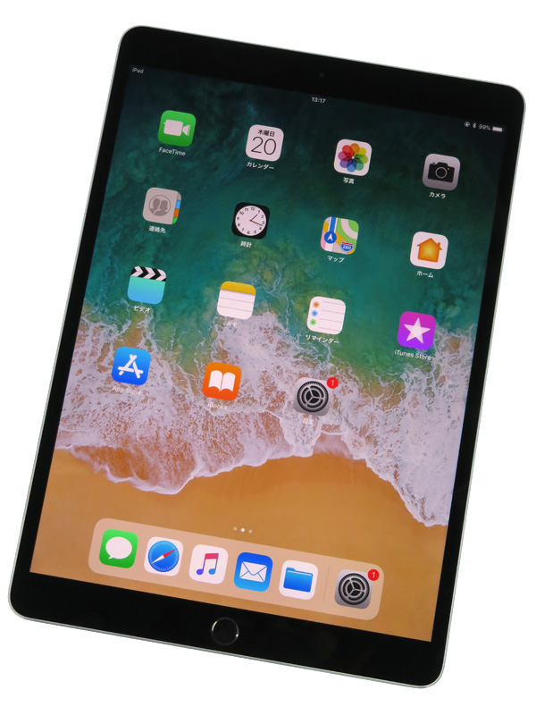 【Apple】【SIMフリー】アップル『10.5インチ iPad Pro Wi-Fi+Cellular 512GB』MPME2J/A スペースグレイ iOS11.4.1 タブレット型端末 1週間保証【中古】b03e/h13AB