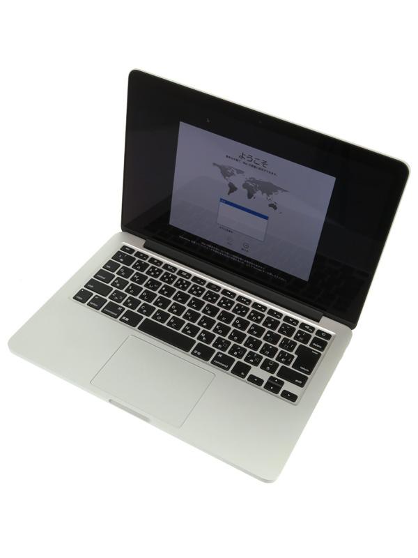 【Apple】アップル『MacBook Pro Retinaディスプレイ 2600/13.3』ME866J/A late 2013 512GB Mavericks ノートPC【中古】b02e/h09AB