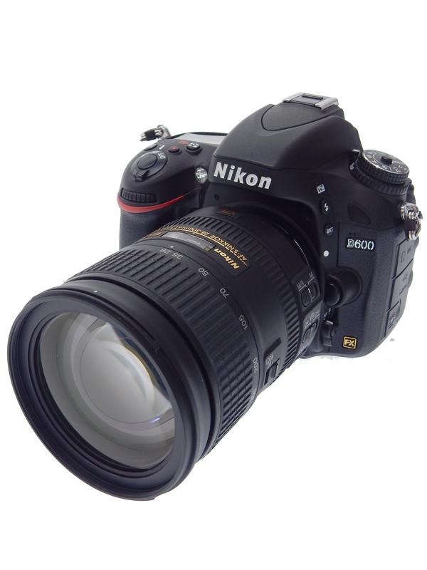1週間保証【中古】b02e/h02AB 【Nikon】ニコン『D600 VR 28-300 レンズキット』デジタル一眼レフカメラ