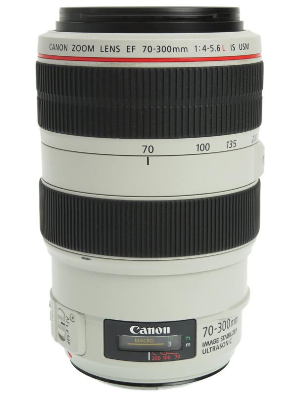 【Canon】キヤノン『EF70-300mm F4-5.6L IS USM』EF70-300LIS デジタル一眼レフカメラ用レンズ 1週間保証【中古】b06e/h16B