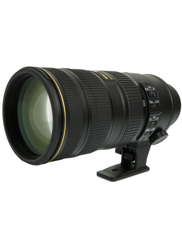 【Nikon】ニコン『AF-S NIKKOR 70-200mm f/2.8G ED VR II』AFSVR70-200G2 FXフォーマット デジタル一眼レフカメラ用レンズ【中古】b06e/h18AB