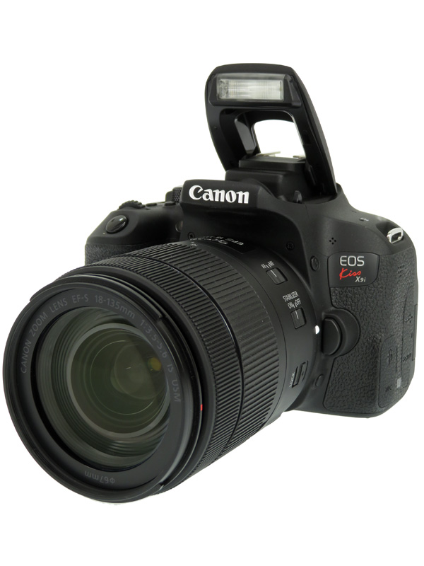 【Canon】キヤノン『EOS Kiss X9i EF-S18-135 IS USM レンズキット』2420万画素 APS-C デジタル一眼レフカメラ 1週間保証【中古】b02e/h03AB