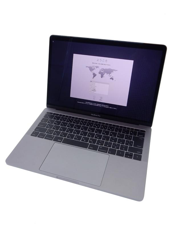 【Apple】アップル『MacBook Pro Retinaディスプレイ 2000/13.3 スペースグレイ』MLL42J/A SSD256GB High Sierra ノートPC【中古】b02e/h03AB