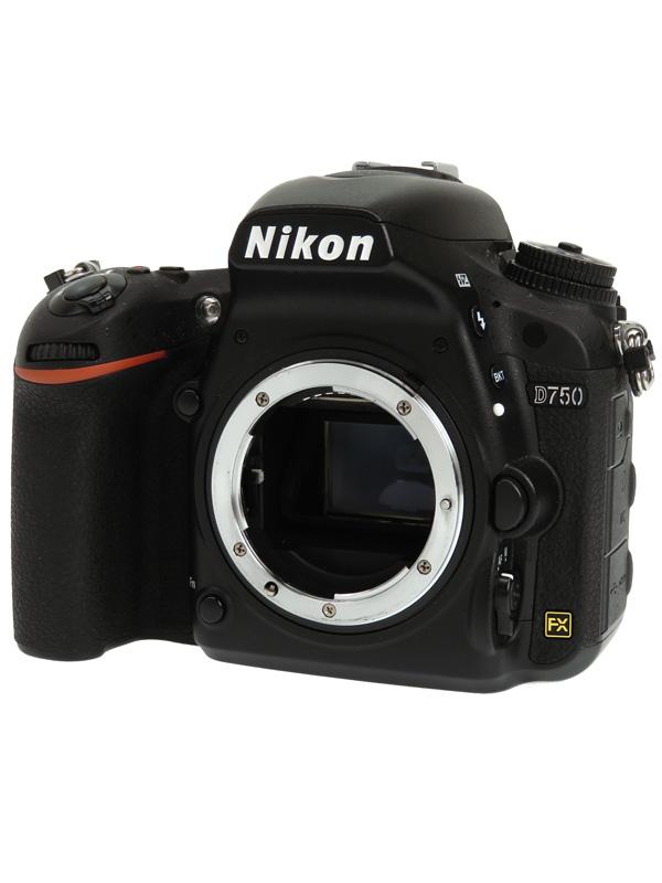 【Nikon】ニコン『D750 ボディ』2432万画素 FXフォーマット ISO12800 フルHD動画 SDXC デジタル一眼レフカメラ 1週間保証【中古】b02e/h02AB