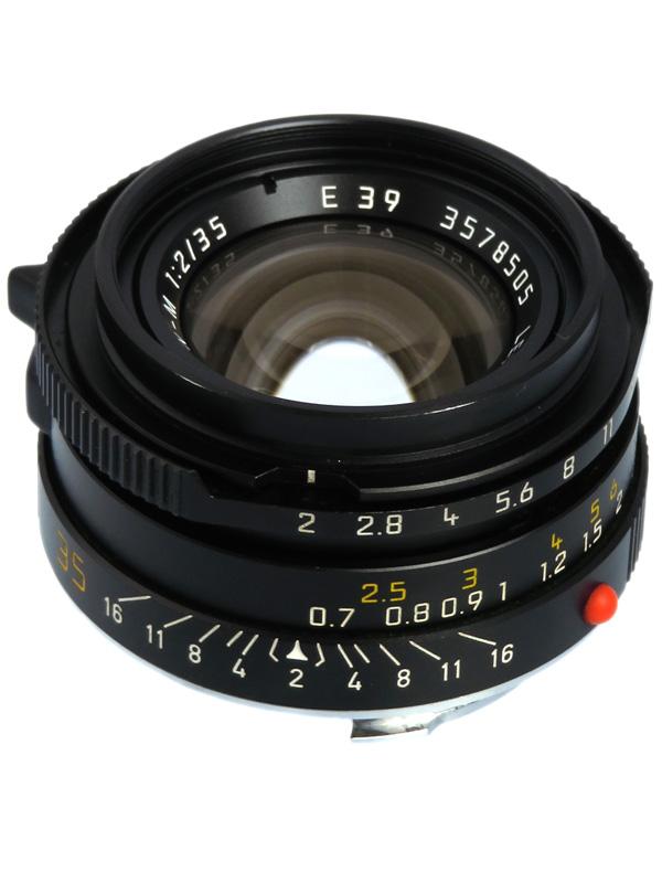 【Leica】ライカ『ズミクロンM35mmF2 第4世代』11952 レンジファインダーカメラ用レンズ 1週間保証【中古】b03e/h12B