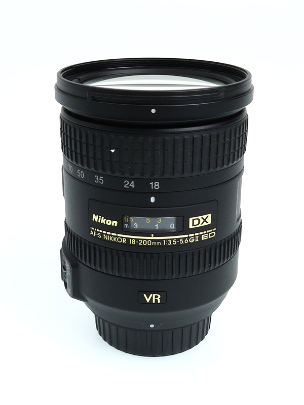 【Nikon】ニコン『AF-S DX NIKKOR 18-200mm f/3.5-5.6G ED VR II』AFSDXVR18-200G2 レンズ 手ブレ補正 1週間保証【中古】b03e/h15AB